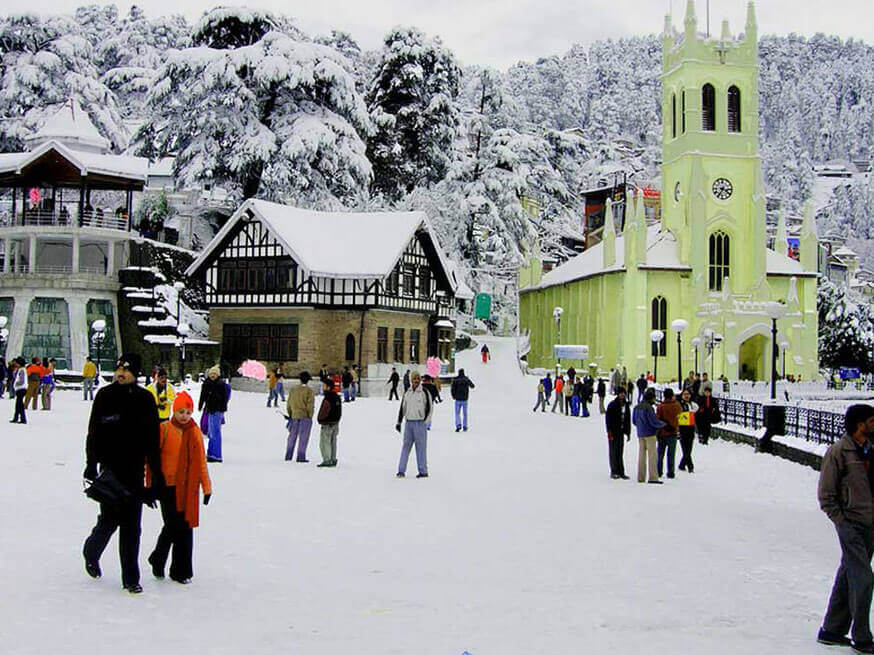 Shimla Tour Package 3Night/4Days