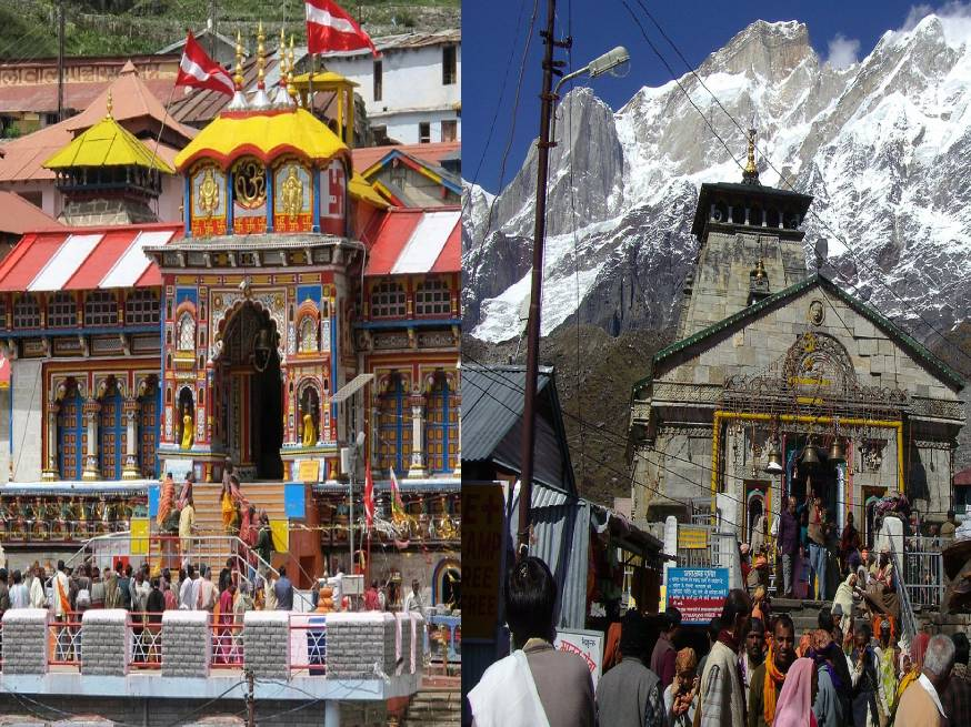 Badrinath and Kedarnath Yatra from Haridwar